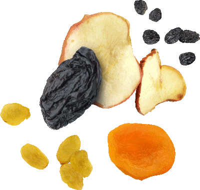 … dried fruits -- Flavors
